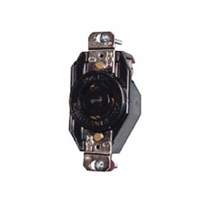 Hubbell L515R Locking Receptacle