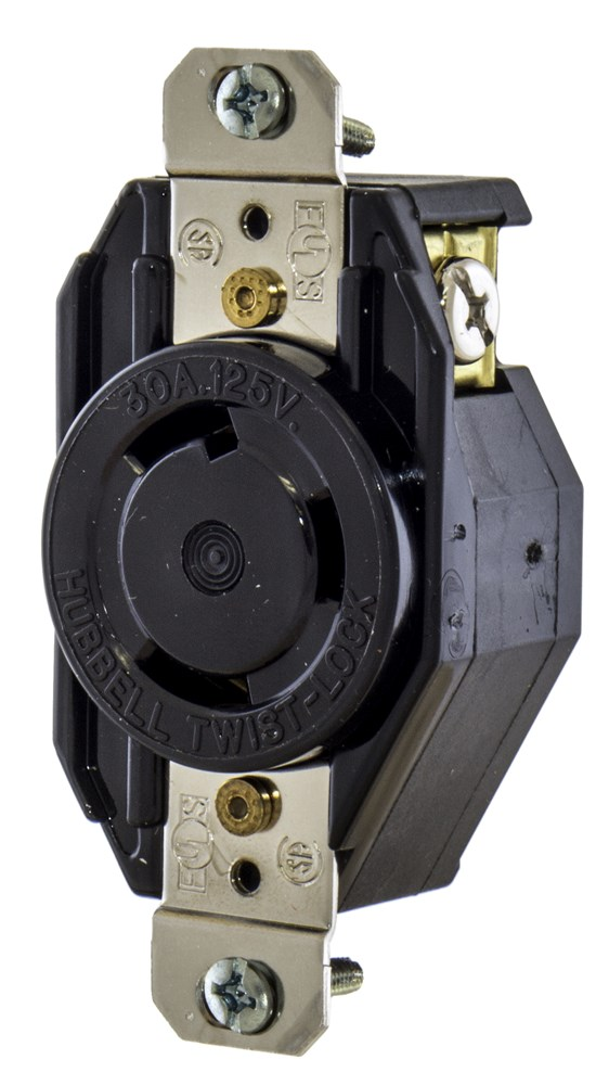 Hubbell L530R Locking Receptacle