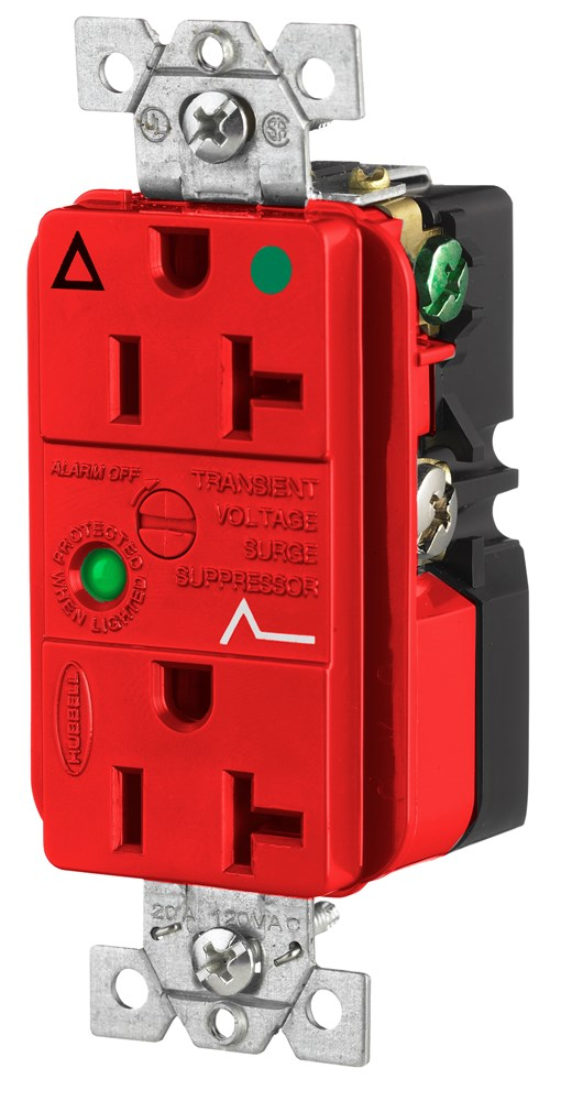 Hubbell IG8362RSA Surge Protection Receptacle