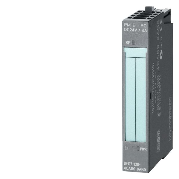 Siemens 6ES71384CA800AB0 SIMATIC DP Power Supply Module