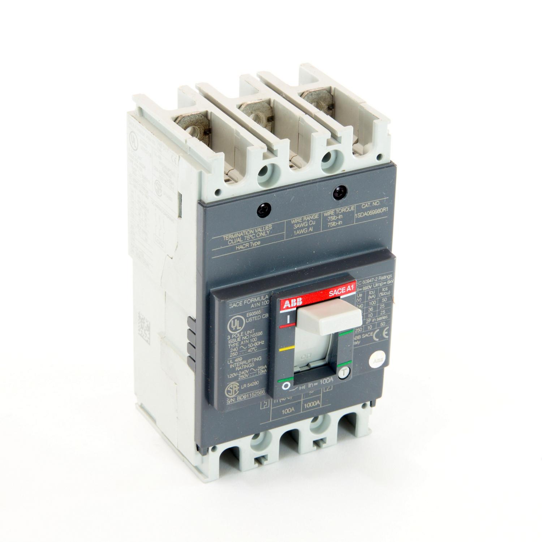 ABB A1N100TW FORMULA Molded Case Circuit Breaker