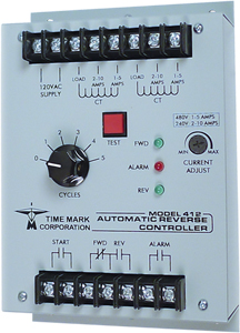 Time Mark Corporation 412 Overload Relay