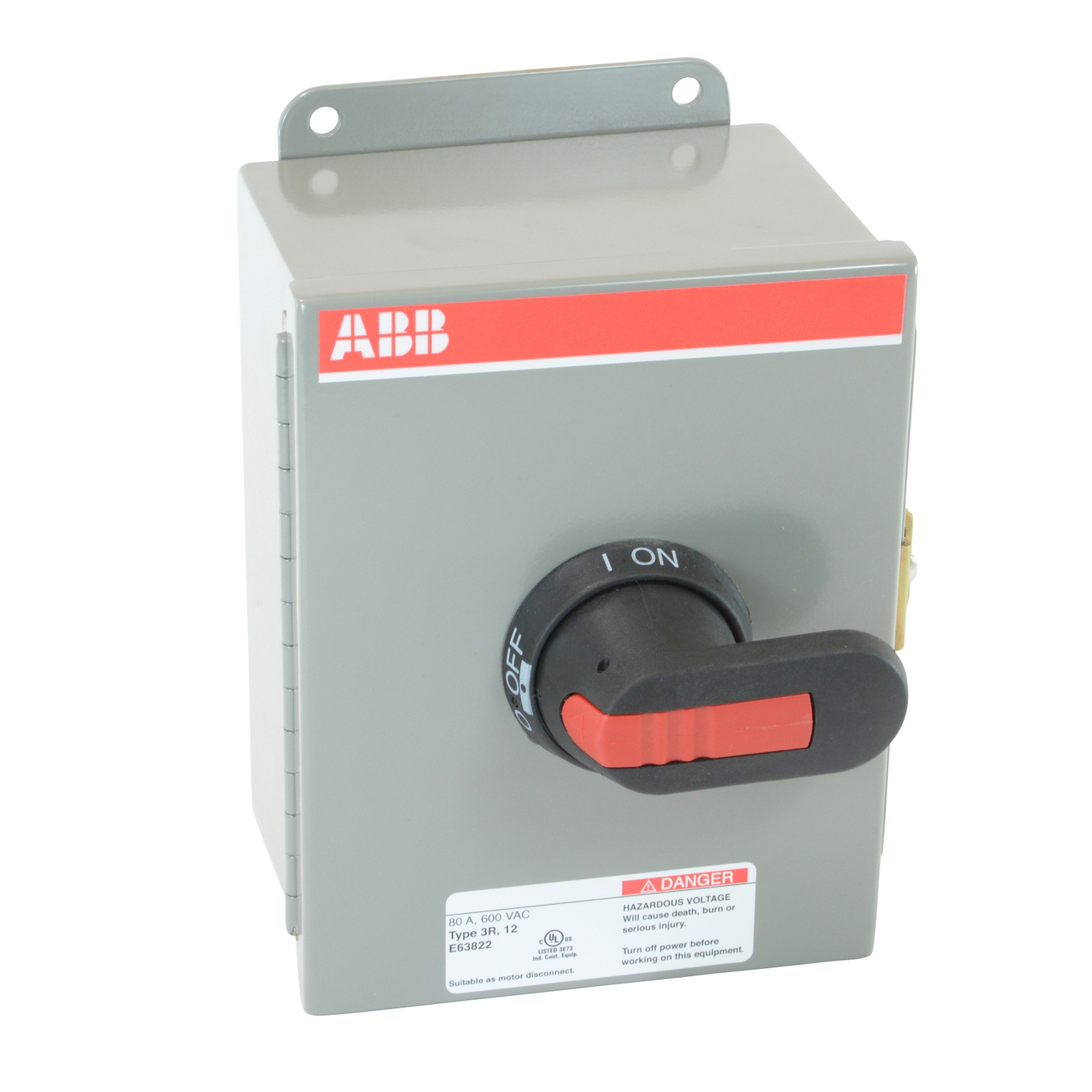 ABB EOT63U3M3-P Enclosed Disconnect Switch