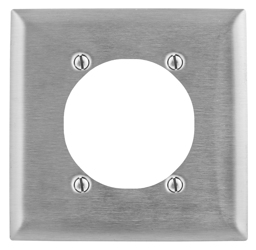 Hubbell SS716 Receptacle Wallplate