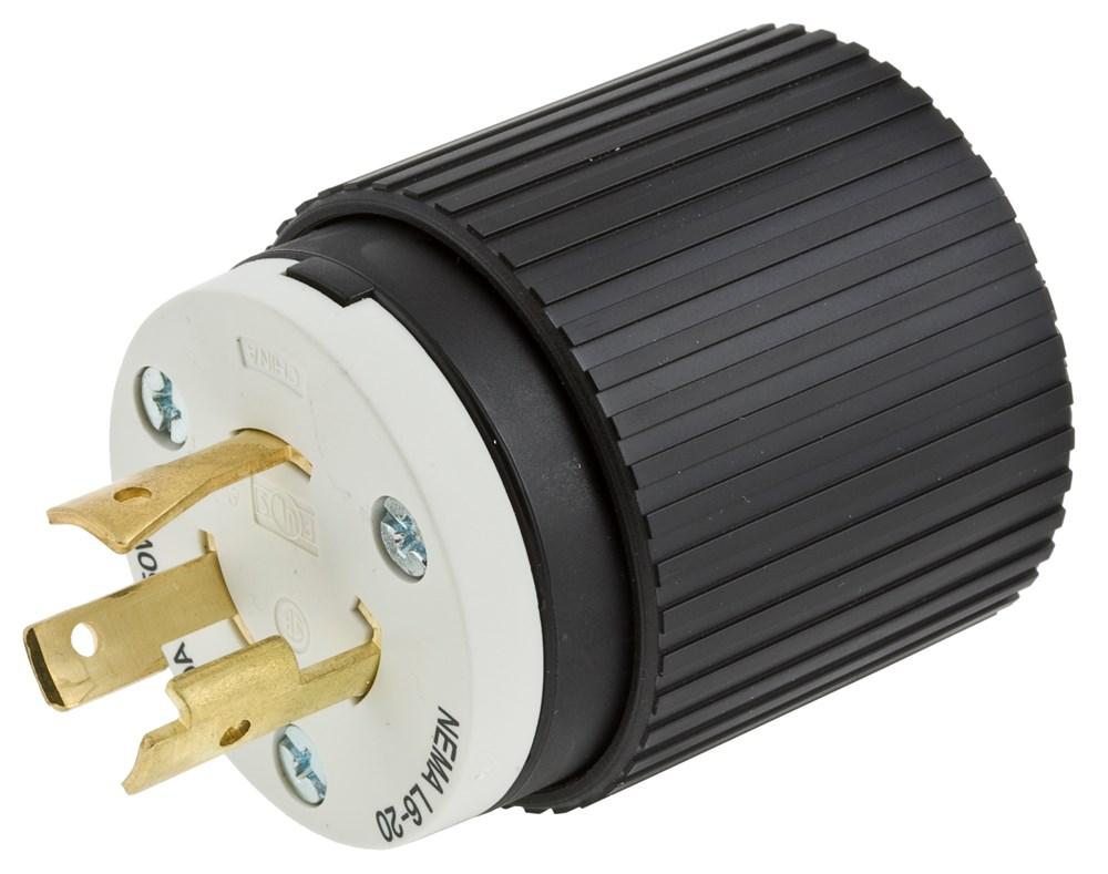Hubbell L620P Locking Male Plug