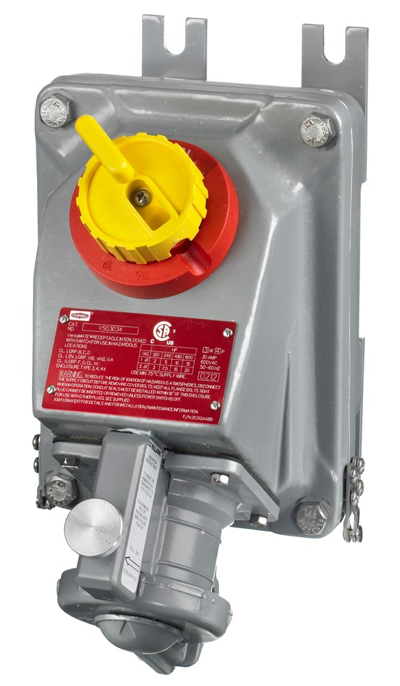 Hubbell HBLVSQ6034 Interlocked Receptacle