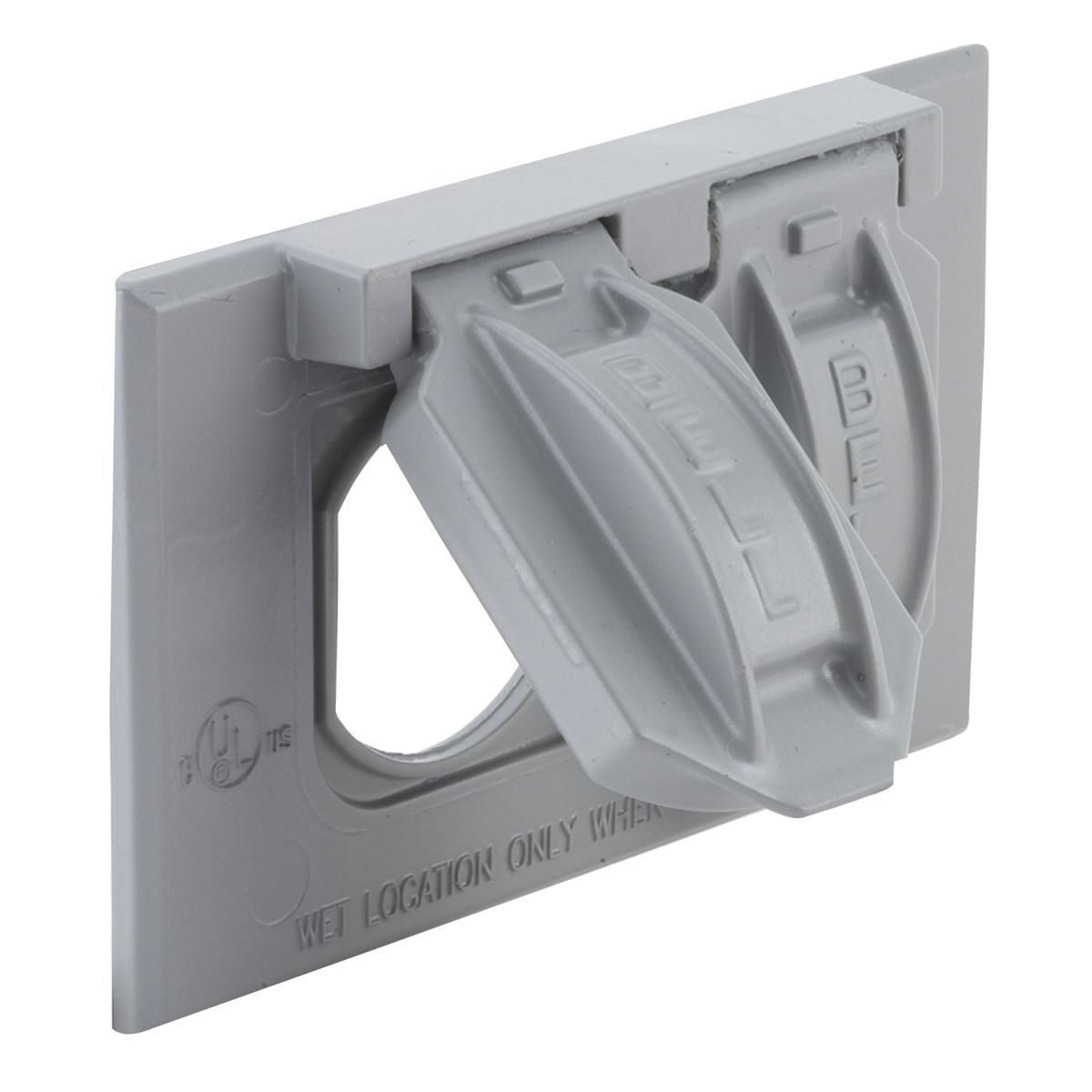 Hubbell-Raco 5180-0 BELL Outlet Box Cover