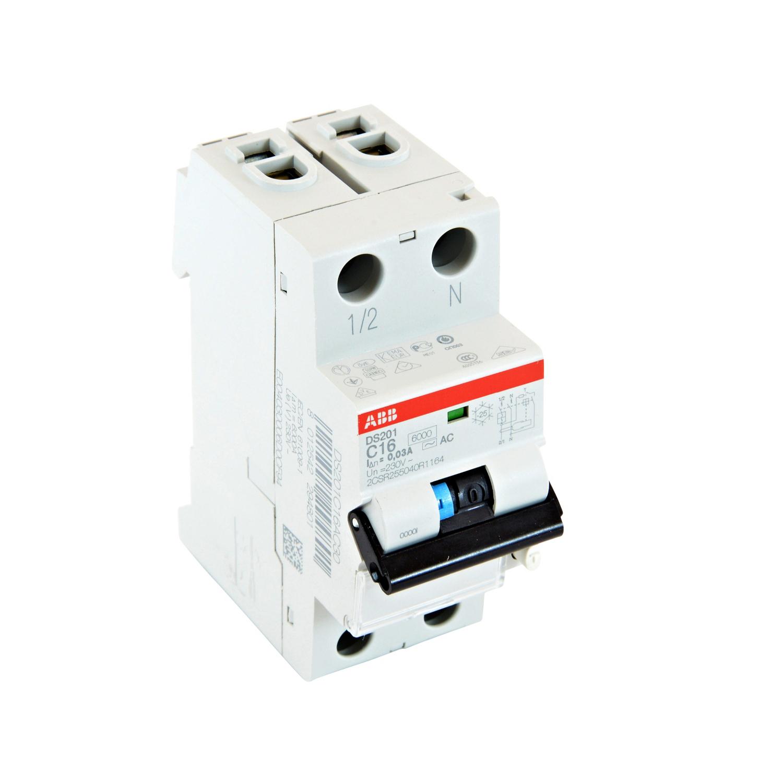 ABB DS201AC-C16/0.03 Residual Current Circuit Breaker