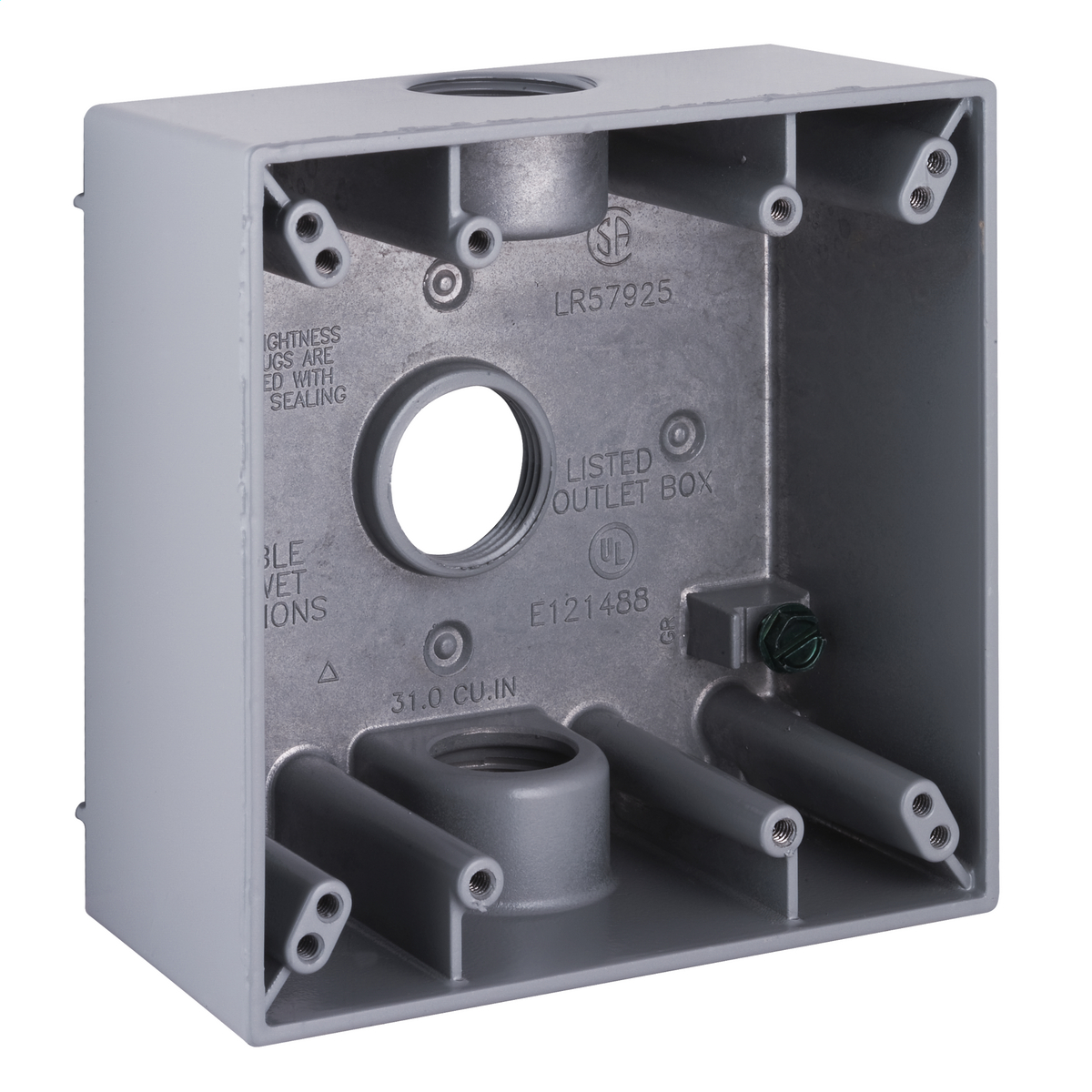 Hubbell-Raco 5341-0 BELL Weatherproof Outlet Box