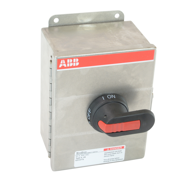 ABB EOT60U3S4-P Enclosed Disconnect Switch