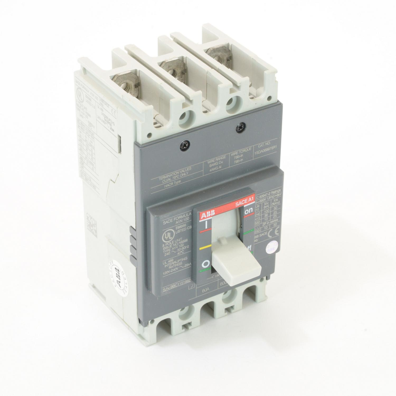 ABB A1N060TW FORMULA Molded Case Circuit Breaker