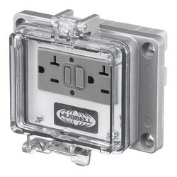 Hubbell PR20 Signal and Control Combination Outlet