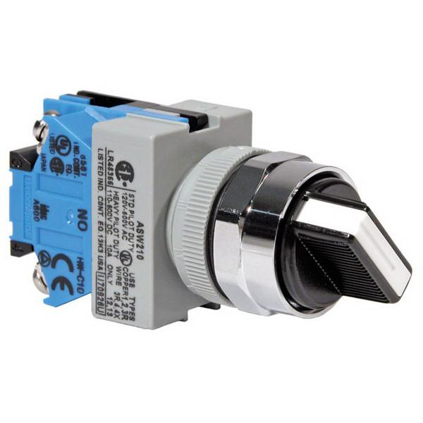 IDEC ASW210 TW Series Non-Illuminated Selector Switch