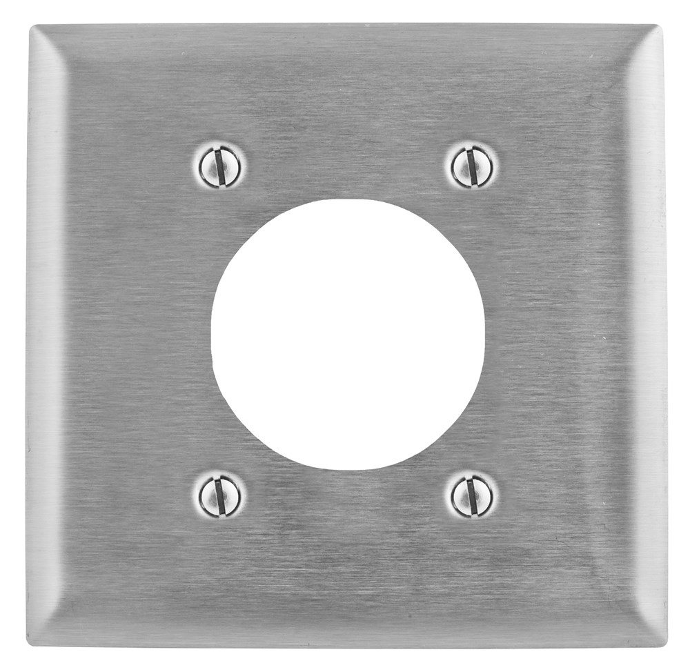 Hubbell SS703 Receptacle Wallplate