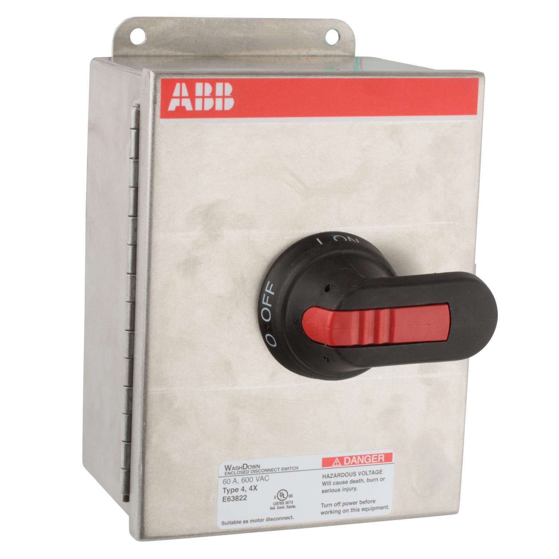 ABB EOT45U3S4-P Enclosed Disconnect Switch