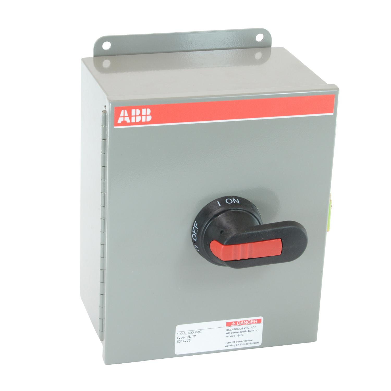 ABB EOT100U3M3-P Enclosed Disconnect Switch