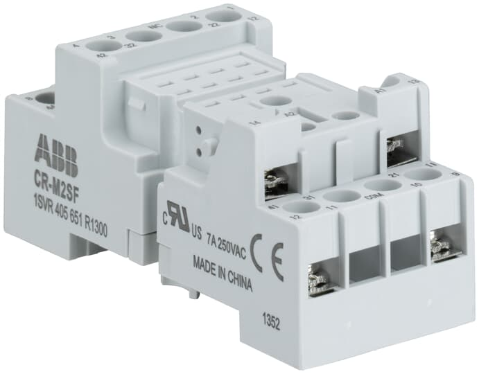 ABB 1SVR405651R3300 Relay Socket Or Base