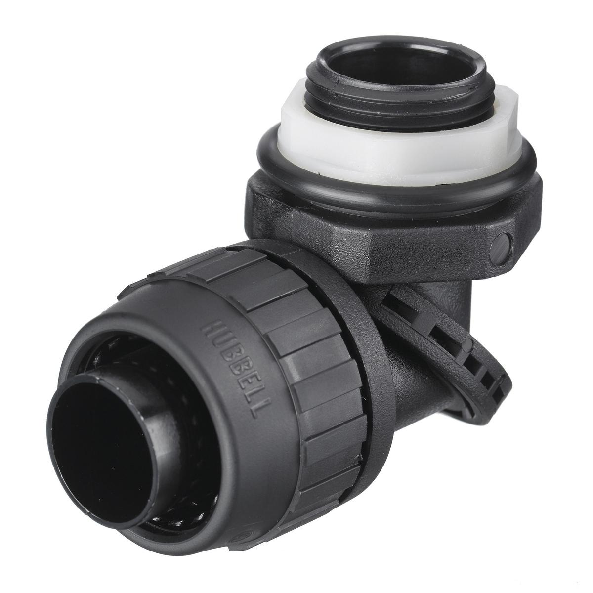 Hubbell PS0759NBK Liquidtight Conduit Connector
