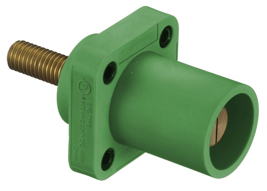 Hubbell HBLMRSGN Single Pole Receptacle