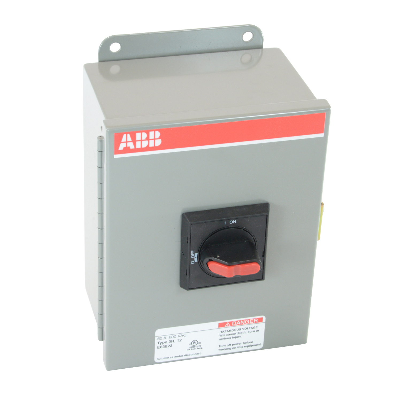 ABB EOT45U3M3-S Enclosed Disconnect Switch