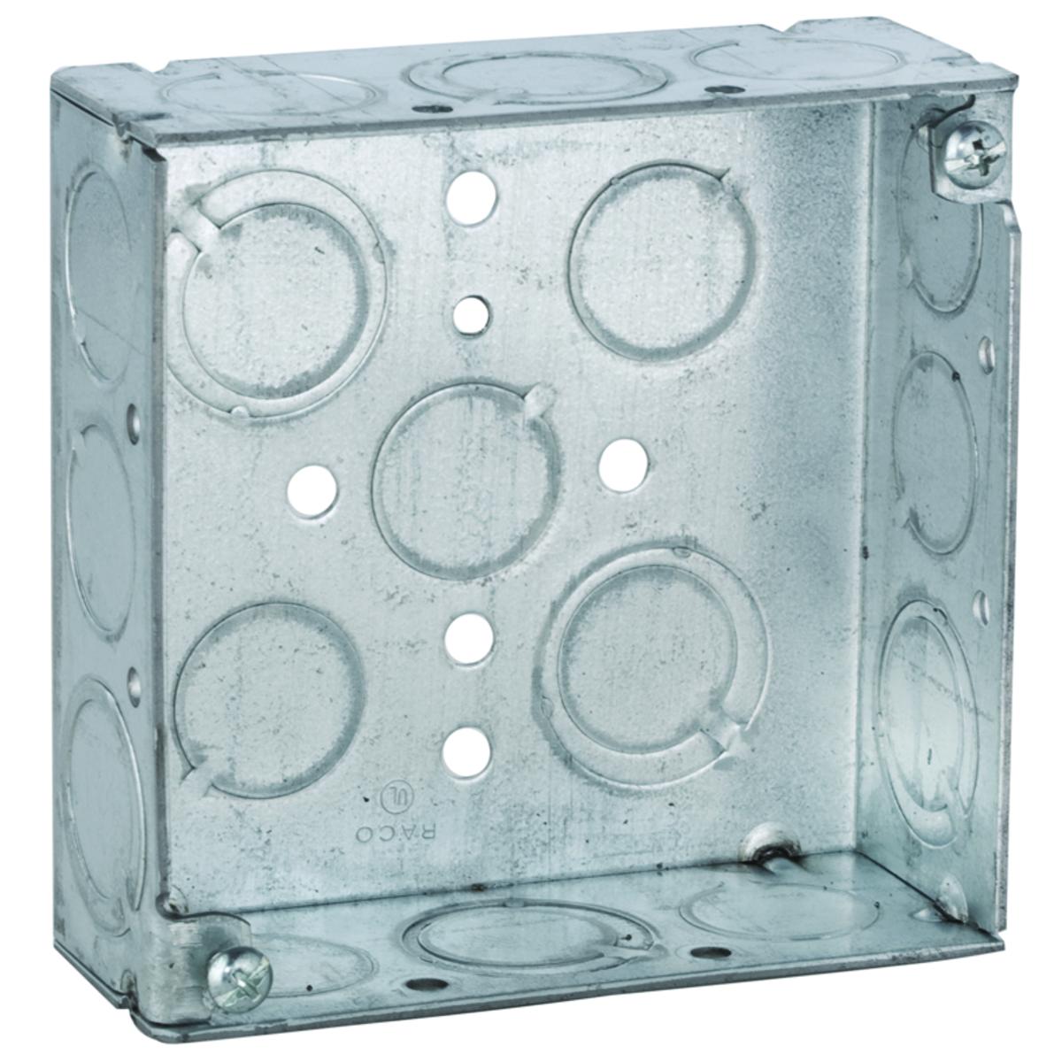 Hubbell-Raco 189RAC Square box