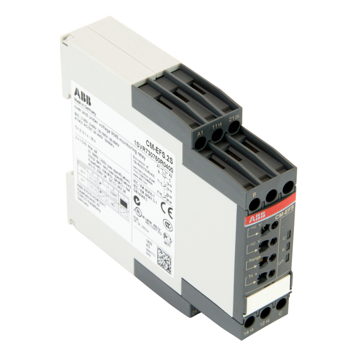 ABB 1SVR730750R0400 Current and Voltage Monitoring Relay