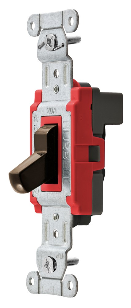 Hubbell SNAP1221BRNA Toggle Switch