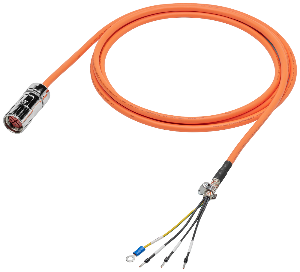 Siemens 6FX30025CL021AD0 Motor Power Cable