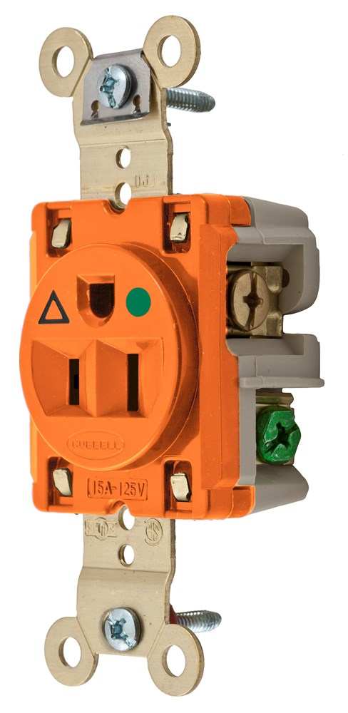 Hubbell IG8210 Straight Blade Receptacle