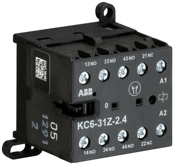 ABB KC6-31Z-01 Mini Contactor Relay