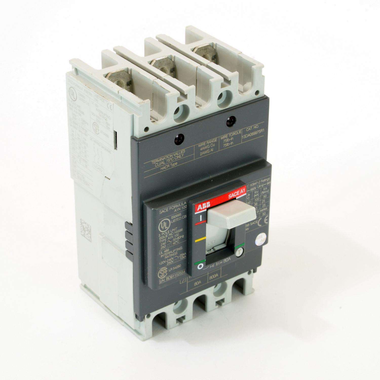 ABB A1N080TW FORMULA Molded Case Circuit Breaker