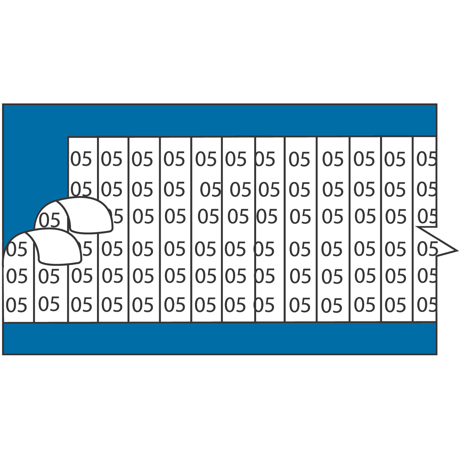 Thomas & Betts WC02S Wire Marker Card