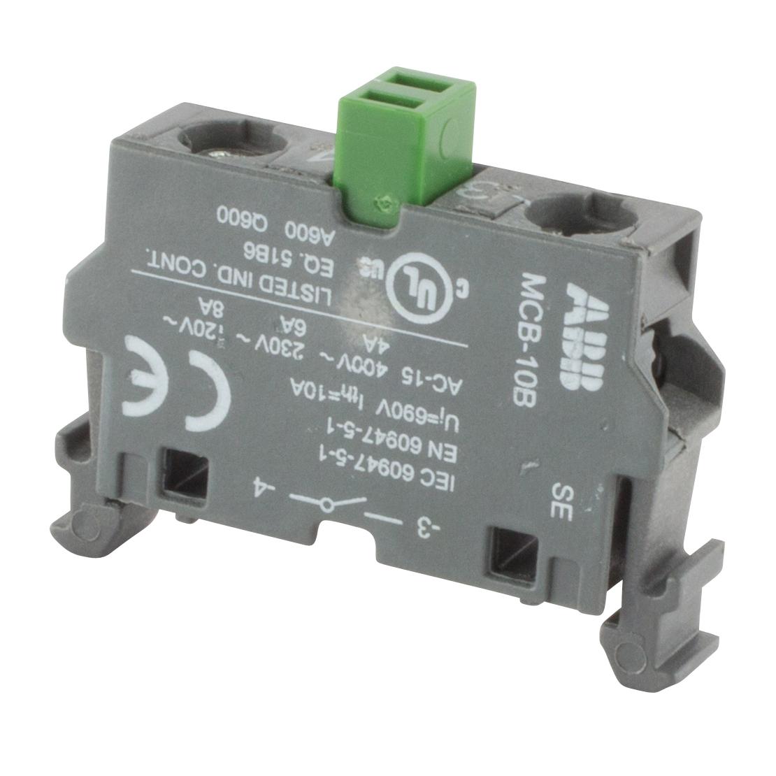 ABB MCB-01B Contact Block