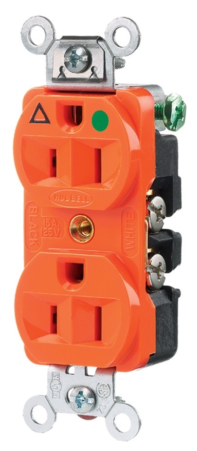 Hubbell IG8200 Straight Blade Receptacle