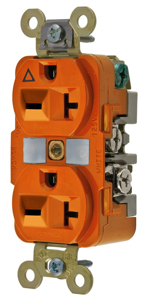 Hubbell IG5462 Straight Blade Receptacle