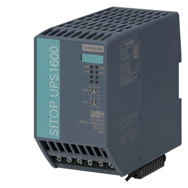 Siemens 6EP41373AB000AY0 SITOP DC Uninterrupted Power Supply