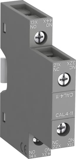 ABB CAL4-11-T Auxiliary Contact Block
