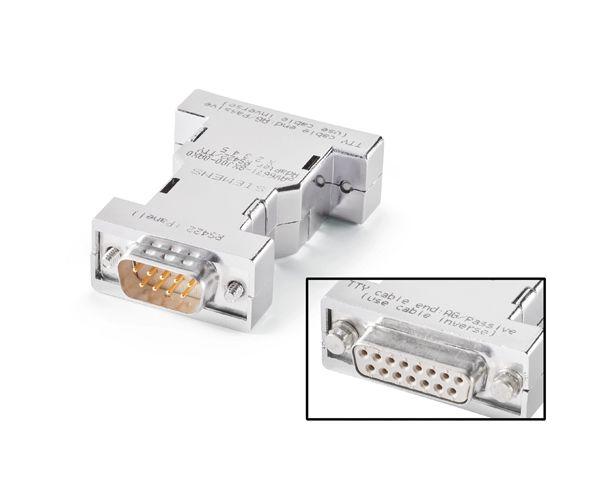 Siemens 6AV66718XJ000AX0 RS422 to TTY Converter