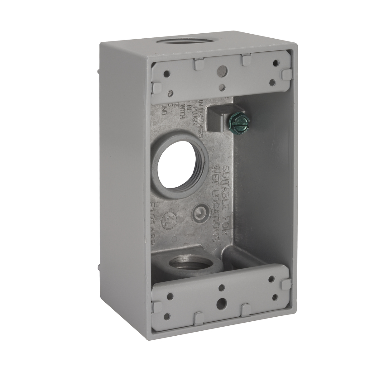 Hubbell-Raco 5324-0 BELL Weatherproof Outlet Box
