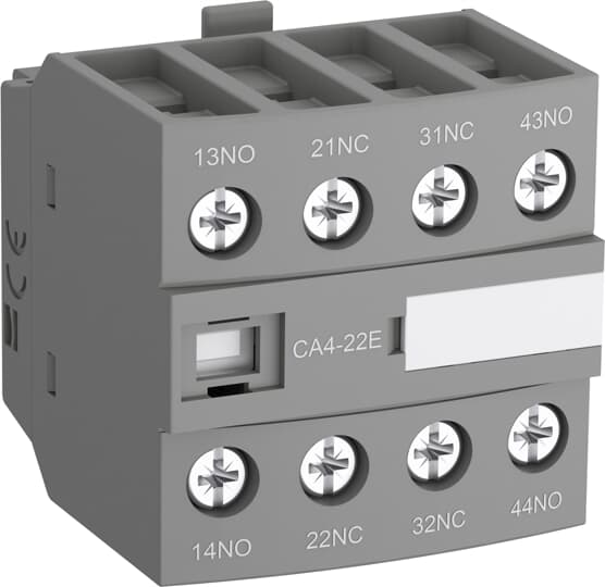 ABB CA4-04M Auxiliary Contact Block