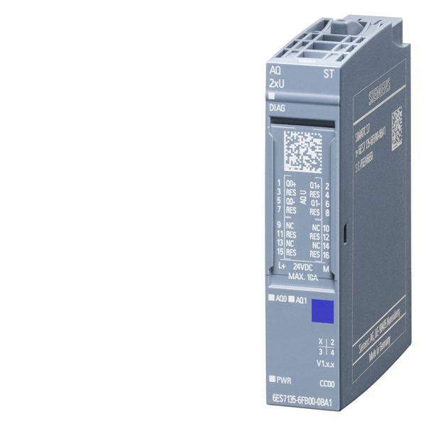 Siemens 6ES71356FB000BA1 Analog Output Module