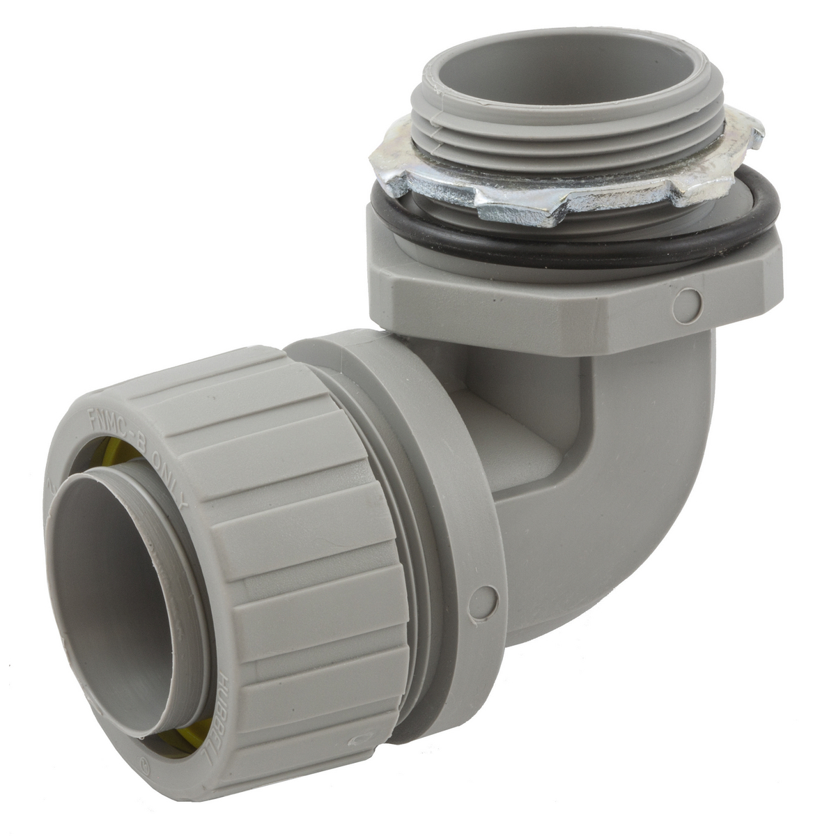 Hubbell P1259NGY Conduit Liquidtight Connector