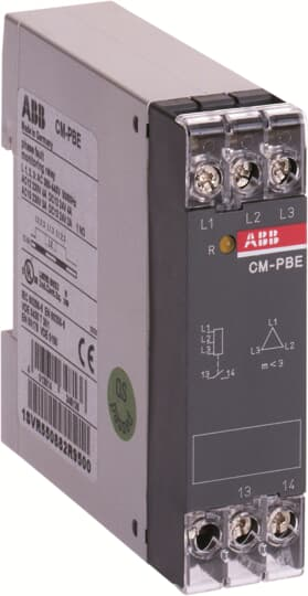 ABB 1SVR550882R9500 Phase Loss Monitoring Relay