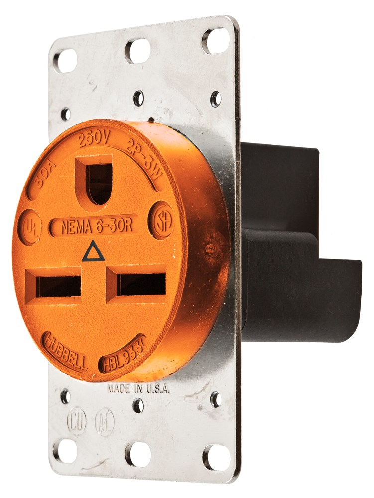 Hubbell IG9330 Straight Blade Receptacle