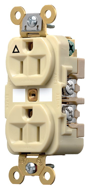 Hubbell IG5262I Straight Blade Receptacle