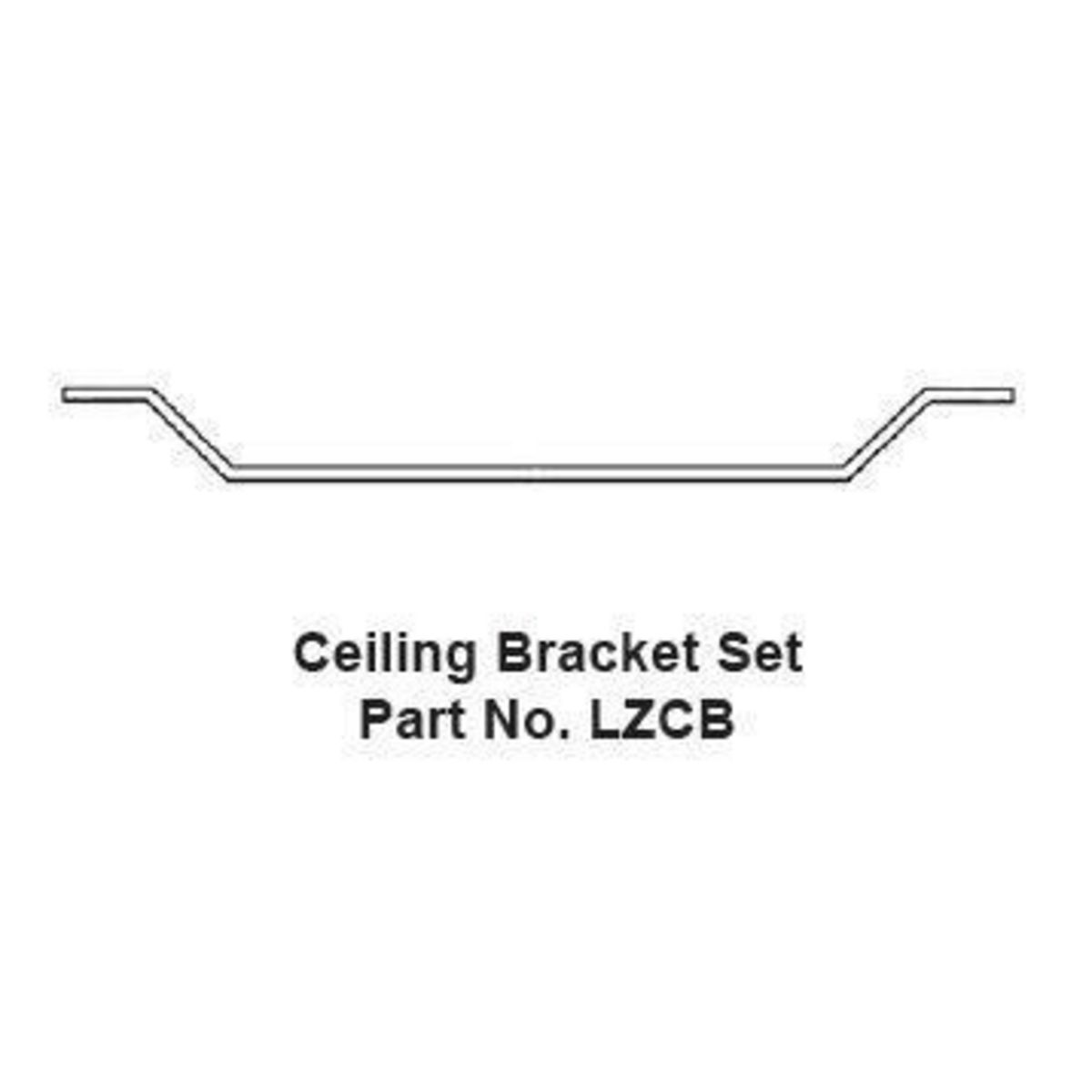 Hubbell LZCB Ceiling Mounting Bracket Set
