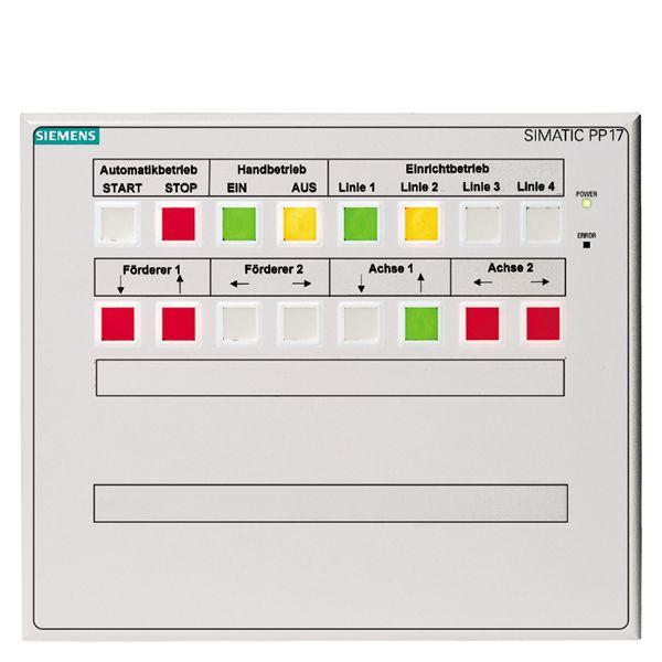 Siemens 6AV36883CD130AX0 Push Button Panel