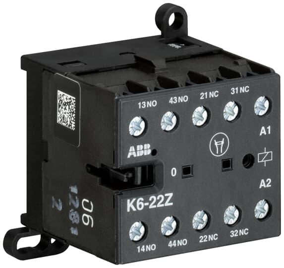 ABB K6-22Z-84 Mini Contactor Relay