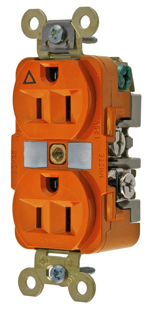 Hubbell IG5262 Straight Blade Receptacle