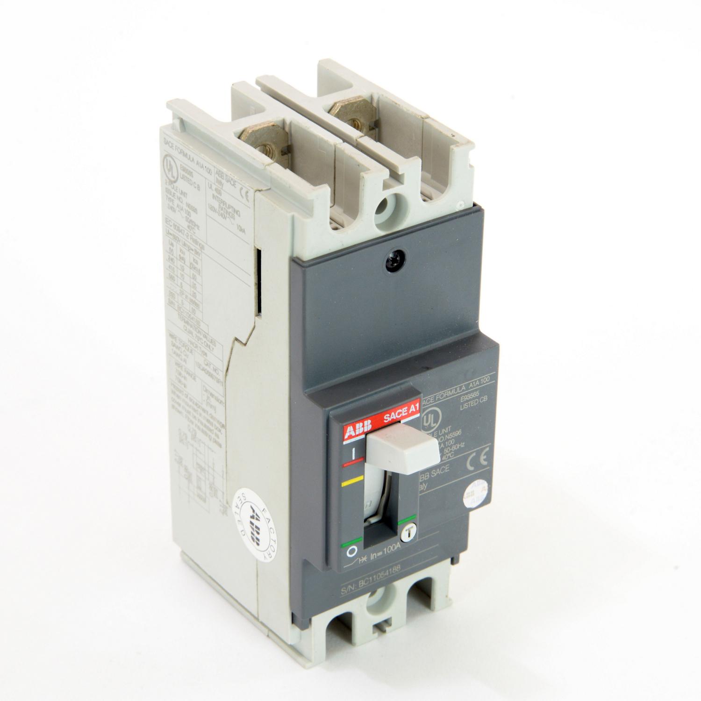 ABB A1A100TW-2 FORMULA Molded Case Circuit Breaker